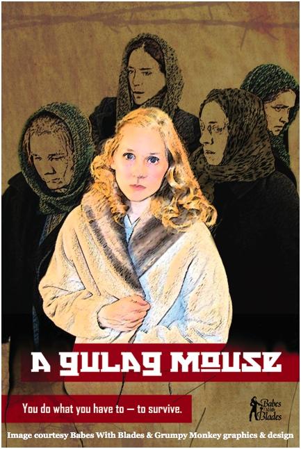 A Gulag Mouse, image courtesy of Grumpy Monkey Design