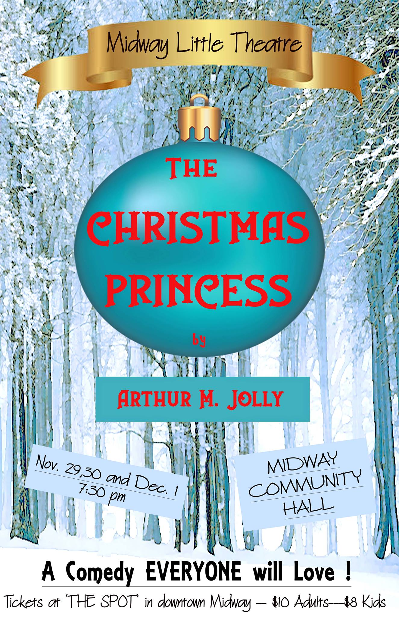 Christmas Princess.The Christmas Princess