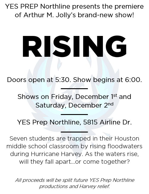 Rising - a new play about Hurricane harvey