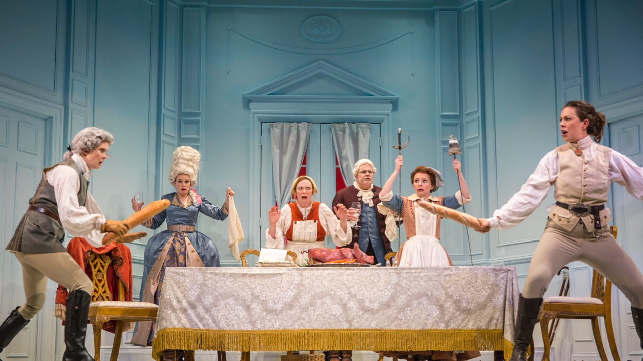The Gulfshore Playhouse Production of The Lady Demands Satisfaction