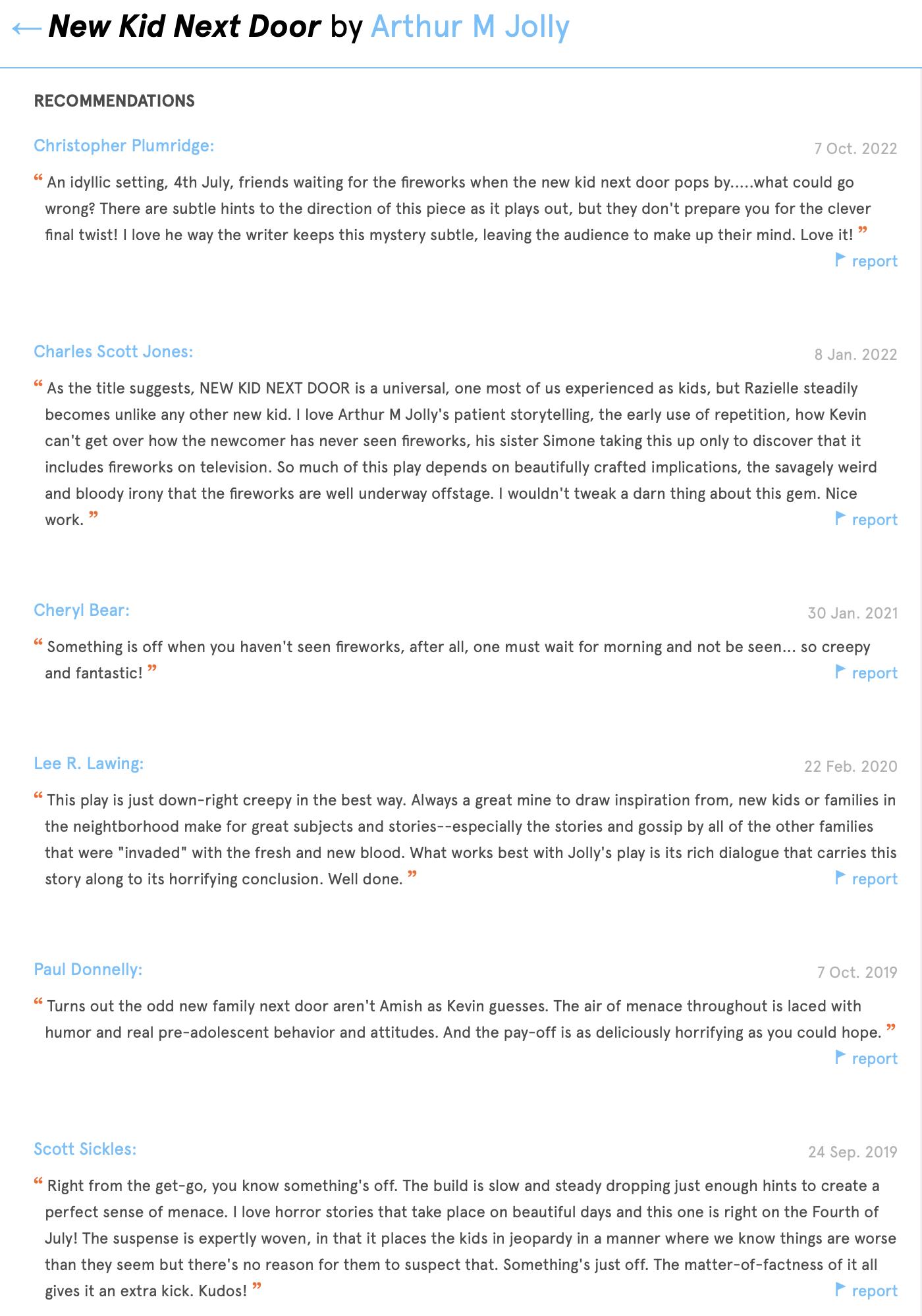 New Kid Next Door Reviews